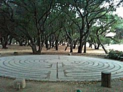 Labyrinth Before the Morning Hike