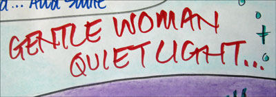 A quet gentle woman...