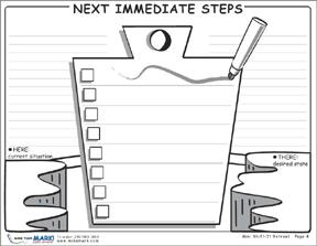 next immediate steps