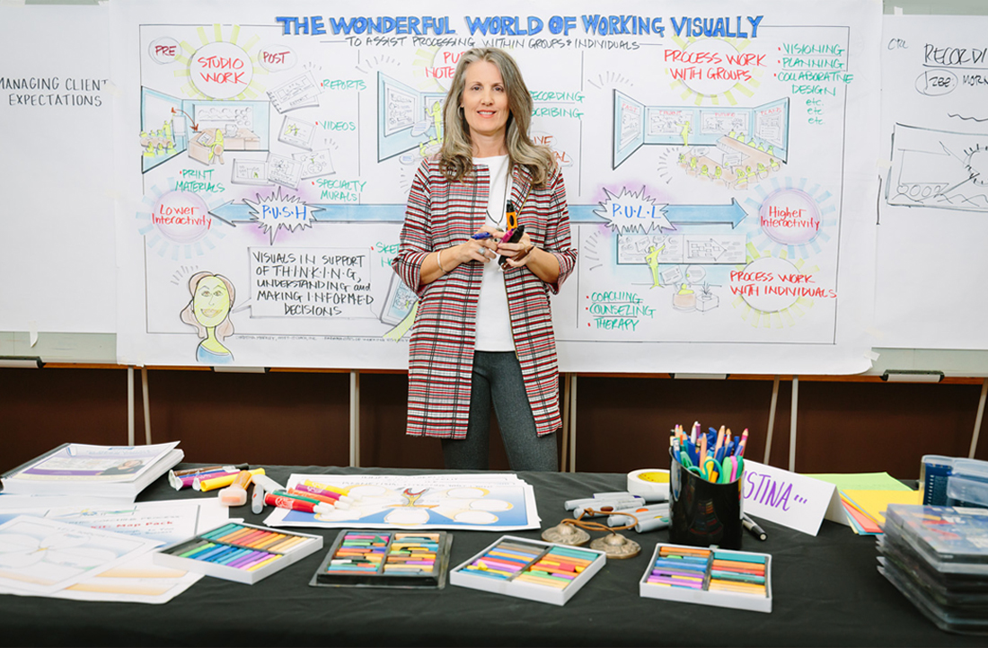 Graphic Facilitator Christina Merkley
