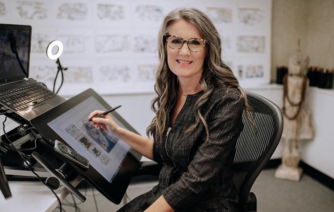 Graphic Facilitator Christina Merkley