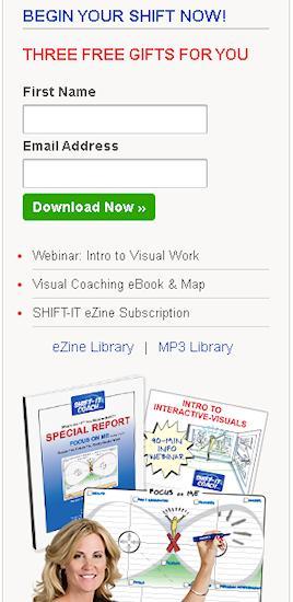 Christina Merkley - Visual Coaching - SHIFT-IT Coach eZine