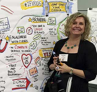 Carolyn Ellis, Visual Facilitator and Consultant
