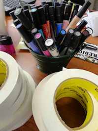 Visual Supplies for Graphic Facilitation