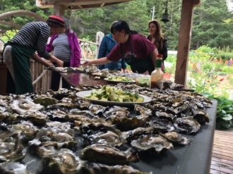 Oyster Shuck with Local Delcacies