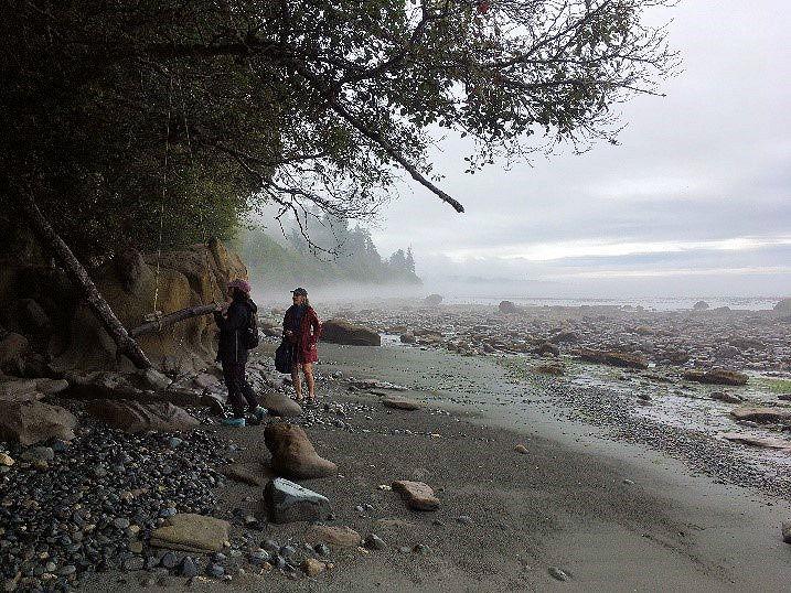 Note from Christina merkley exploring Vancouver Island British Columbia