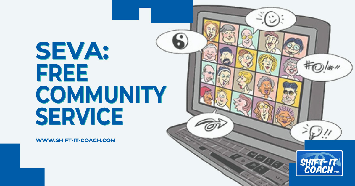 Seva community service online coaching and support with Christina merkley